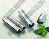 Tubes gravés en relief/pipes d'acier inoxydable