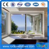 Schiebende Falz-Aluminiumtür/Fenster mit sicherem ausgeglichenem Glas/lamelliertem Glas