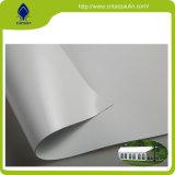 Virly revestidas de polietileno impermeável de pano tecido PVC 850gsm tenda oleados
