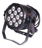 12のLEDs * 8W RGBW 4in1屋外の防水LEDの同価はつくことができる