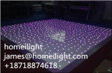 2*4FT RGB 3 in 1 indicatore luminoso sensibile Starlit del LED Dance Floor DJ LED Dance Floor LED Dance Floor per la decorazione della festa nuziale
