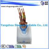 Smoke/PVC inférieur Insulated/PVC a engainé/câble examiné/échoué/instrumentation