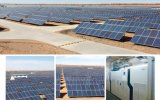 Panneau solaire polycristallin à haute efficacité 150W à haute efficacité avec cadre en alliage d'aluminium
