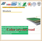 Resistenza all'usura Cn-C06 e pavimentazione a cristallo della strada di colore di Uvioresistant