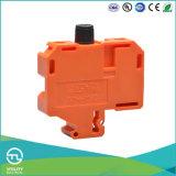 Utl Tipo de fusível Conector elétrico Laranja Pequeno tipo de trilho DIN