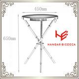 Seitliche Tisch- für SystemkonsoleEdelstahl-Möbel-Ausgangsmöbel-Hotel-Möbel-moderner Möbel-Tisch-Kaffeetisch-Tee-Tisch-Ecken-Tisch des Tisch-(RS161203)
