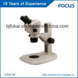 Facile à utiliser 0.68-4.6X Microscope étudiant pour la manufacture spécialisée