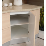 2014 Oppein Nueva llegada del gabinete de cocina con PVC Acabado
