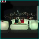 Sofá LED Sofá brilhante Sofá moderno de lazer Sofá duplo
