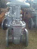 """GOST Py25 4 """" valvola a saracinesca dell'acciaio di getto (Z41H-25C-4 """")"""