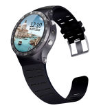 Android 5.1 Bluetooth4.0 GPS Google APP-Puls-Eignung-Verfolger Smartwatch Telefone