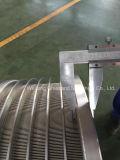 Écran de fente de panier pour le papier ligne de recyclage du papier