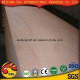 E0/E1/E2 Okoume/Beech/Ash/Oak/fantasía Bingtangor teca madera contrachapada decorativos para