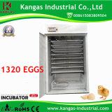 Incubateur d'oeufs de volaille Full-Automatic pour 1000 oeufs de poulet