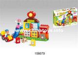 La novedad de construcción de plástico educativo del bloque de juguete para niños (156,679)