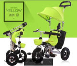 Trois roues Tricycle avec bébé Handbar vélo Push