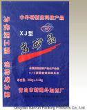 Китай сделал мешок пластмассы сплетенный PP для ступки с после того как он покрашен
