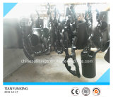 バットによって溶接される炭素鋼A420 Wpl6の管付属品の継ぎ目が無いティー