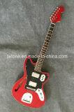 Полое отверстие f тела пылало гитара верхнего качества клена изготовленный на заказ электрическая