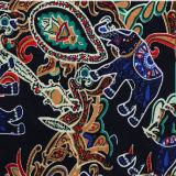 Heißer Verkaufs-Elefant gedrucktes Rayon-Gewebe von der Textilfabrik
