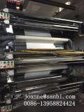 Stampatrice flessografica del timpano centrale ad alta velocità di 6 colori
