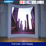 Exhibición de LED a todo color de la definición SMD LED de la pared video grande de P4 alta