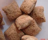 Biscuits gonflés avec extrudeuse de traitement au chocolat