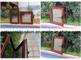 Doppelverglasung-Fenster-Aluminiumflügelfenster-Fenster mit Glas AS/NZS2208