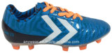 Le football du football d'enfants amorce les chaussures du sport du chevreau (415-9466)