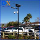Solar nueva calle luz LED para hoteles, escuelas, jardines, parking