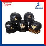Casquillos de los hombres de la sublimación de la insignia del bordado de la ropa de deportes de la manera de Healong
