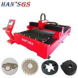 Modèle neuf et plus de fonction de machine de découpage de laser de fibre de GS de 500W Hans