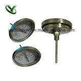 1/2 NPT Directe Opgezette Thermometer van de Aansluting