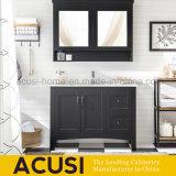 Moderner wasserdichter hölzerner einfacher Entwurfs-Badezimmer-Eitelkeits-Schrank (ACS1-W85)