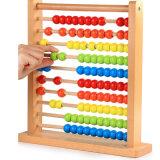 [مونتسّوري] خشبيّة خرزة مزح [أبكس] رياضيات يعدّ لعب تربويّ
