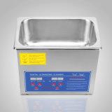 Máquina de limpeza digital de 3 L de limpeza por ultra-som do tanque de banho c/ máquina aquecido do temporizador