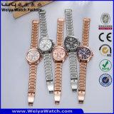 Logotipo personalizado reloj de cuarzo de los hombres de moda Relojes de Pulsera (Wy-106E)