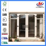 Wandschrank-geformte Bifold Glasinnentüren