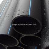 Tubo dell'HDPE di alta qualità SDR17 di Dn 125mm per il rifornimento idrico (acqua calda fredda e)