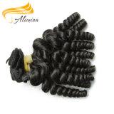 Extensão intata do cabelo do Weave dos Peruvian do cabelo humano da cutícula
