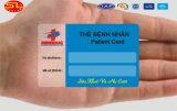 precio de fábrica Sunlanrfid etiqueta clave de la tarjeta de PVC Impreso