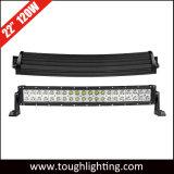 La caja de aluminio de 20 pulgadas de acero inoxidable 120W Ce RoHS barras de luz LED