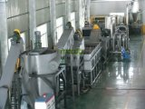 Film d'agriculture/plastique du PE pp film d'extension lavant réutilisant la machine