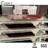 屋根のための反腐食20mm PUサンドイッチパネル