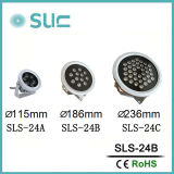 Resistente al agua 24W 24V DC Foco exterior LED