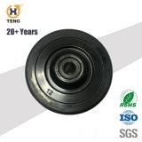 Seguro y de alto rendimiento de 2 pulgadas de la rueda de goma de repuesto Andador, para piso de madera