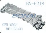 Coperchio laterale di alluminio del radiatore dell'olio del Mitsubishi (OEM: 6D24, ME-150441)