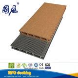 外部の装飾のためのWPCのパネルの高品質の木製のフロアーリング