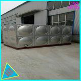 Drinkwater van de Opslag van de Tank van het roestvrij staal het Vierkante