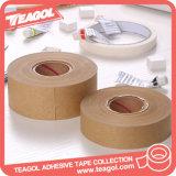 Activação de água escrito em papel kraft fita adesiva de colagem